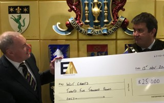 Enterprise Awards - £25,000 to WCIT Charities including Founders for Schools