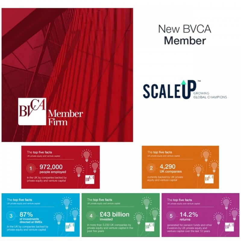 ScaleUp & BVCA Logos